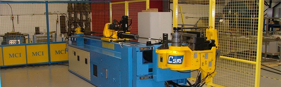CNC Tube Manipulation